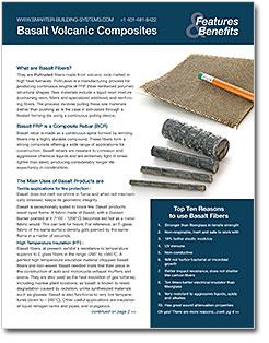 Basalt Product Brochure Features and Benefits - Basalt Guru