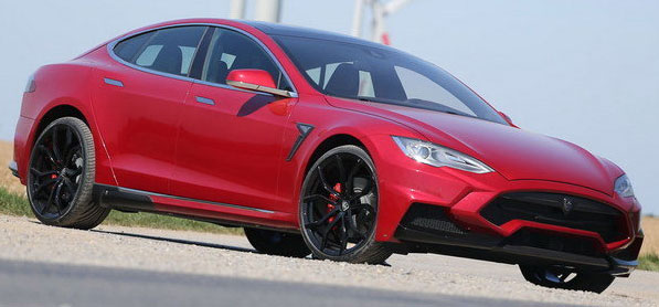 2015 Tesla Model S Elizabeth by Larte Design