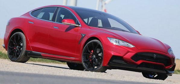 2015 Tesla Model S Elizabeth by Larte Design