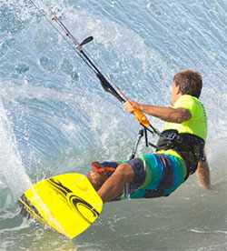 Cabrinha freestyle big air kiteboard